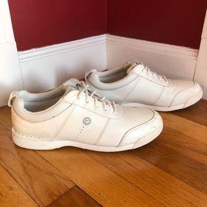 Womens Rockport Marta Walking Shoes White Leather